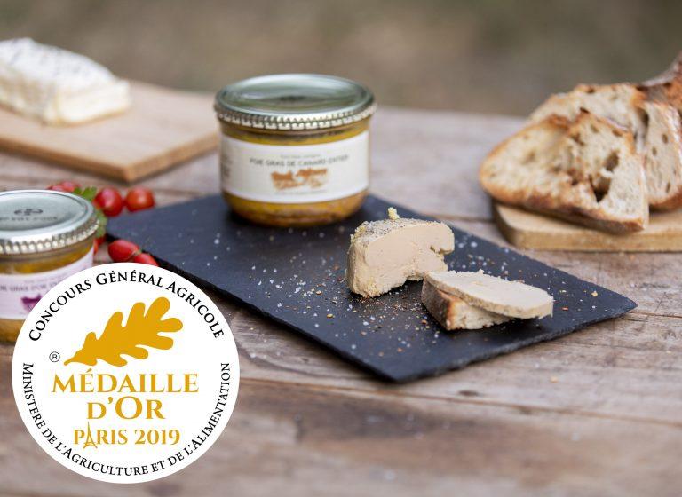 mise en scene foie gras